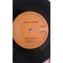 Compacto Jane E Herondy - Não Se Vá (1976)