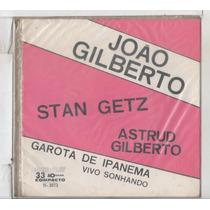 Compacto Vinil Joao Giberto - Garota De Ipanema
