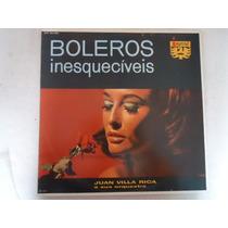 Disco Vinil Lp Boleros Inesquecíveis Juan Villa Rica