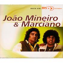 Cd João Mineiro & Marciano - Serie Bis 28 Sucessos - 2 Cds