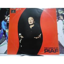 Lp-edith Piaf The World Of Piaf 1969