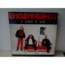 Lp Engenheiros Do Hawaii O Papa É Pop - C/ Encarte