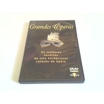 Dvd Grandes Operas - Os Melhores Excertos De Uma Coleção