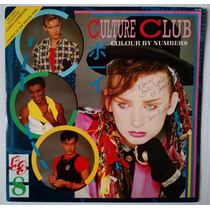 Lp - Culture Club - Colour By Numbers - 1984 - Encarte