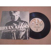 Bryan Adams Compacto Vinil Straight From The Heart 1983 Raro