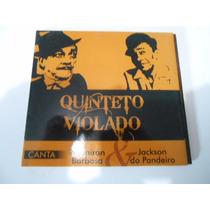 Cd Quinteto Violado Canta Adorian Barbosa E Jackson Do Pande