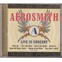 Cd Aerosmith - Live In Concert ( Music Tape 1997 )