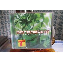 Cd Adrenalina Tecno Dance Transamérica 1999 .