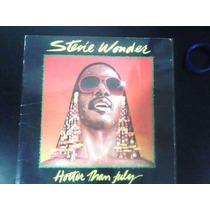 Lp - Stevie Wonder - Hotter Than July
