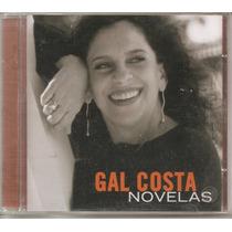 Gal Costa - Novelas - Lacrado - Novo - 1ª Edição