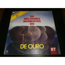 Lp Os Melhores Momentos Do Globo De Ouro 87, Disco Vinil