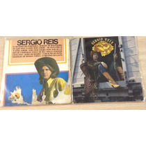 Lote 2 Lp Sérgio Reis Disco De Ouro 1983 (barato) Porteira