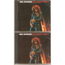 2 Cd Neil Diamond - Hot August Night ( Importado Usa )