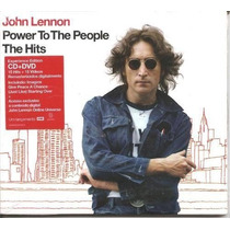 Cd+dvd - John Lennon - Power To People - The Hits - Lacrado