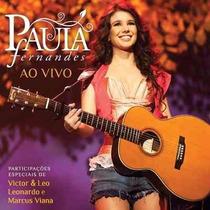 Cd De Musica Paula Fernandes Ao Vivo Seminovo
