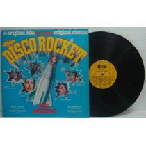 K-tel Disco Rocket Lp Vários Artistas 1977 Mega Raro
