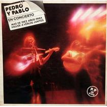Cd - Pedro Y Pablo - En Concierto - Rock Argentino