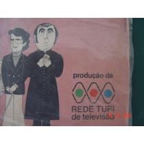 Antigo 02 Lp Vinil Novela Rede Tupi Televisão Radio Vitrola