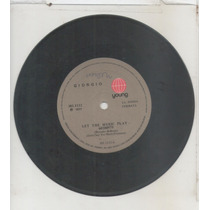 Compacto Vinil Girgio - Let The Music Play - 1977 - Young