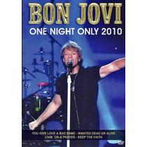 Dvd Bon Jovi One Night Only 2010 - Lacrado