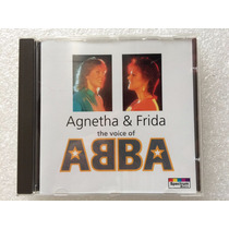 Agnetha & Frida- The Voice Of Abba- Cd Imp. Como Novo!!!