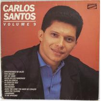 Lp Axé Lambada: Carlos Santos Volume 9 - 1987 - Frete Grátis