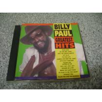 Cd - Billy Paul Greatest Hits Som Livre 1993