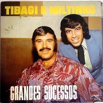 Lp / Tibagi E Miltinho (1964) Grandes Sucessos