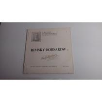 Lp Grandes Compositores Da Música Universal Rimsky-karsakow