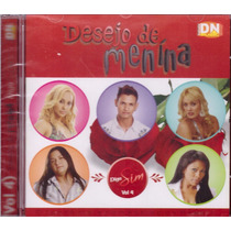 Cd Desejo De Menina Diga Sim Vol.4 Original + Frete Grátis