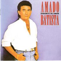Cd Amado Batista -cd (1988) - Dinamite De Amor