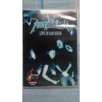 Dvd Metallica Live In San Diego R$ 18,00 + Frete