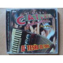 Catuaba Com Amendoim- Cd Ao Vivo Volume 3- 2002- Zerado!