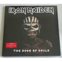 Iron Maiden The Book Of Souls 3 Lp Europeu Pronta Entrega