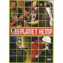 Dvd+cd Planet Hemp - Mtv Ao Vivo