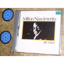 Cd Milton Nascimento - Ao Vivo (1983) C/ Gal Costa + Encarte