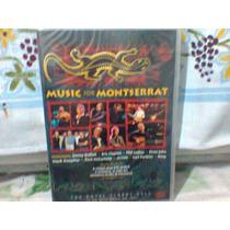 Dvd Music For Montserrat @ Diversos (lacrado) Frete Grátis