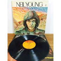 Lp Neil Young - 1º Álbum Import U. S. Capa Dupla Vinil Excel