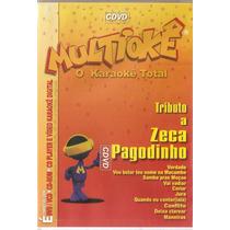 Dvd+cd Multiokê - Tributo A Zeca Pagodinho - Novo***