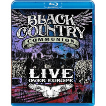Blu-ray Black Country Communion Live Over Europe - Novo