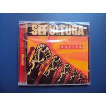 Sepultura - Nation - Novo E Lacrado