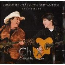 Grandes Clásicos Sertanejos Chitãozinho E Xororó Cd Original