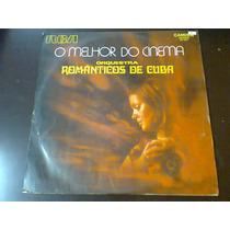 Lp O Melhor Do Cinema - Orquestra Românticos De Cuba