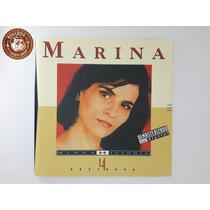 Cd Marina Lima Minha Historia - Ganha Capa Nova De Brinde A6