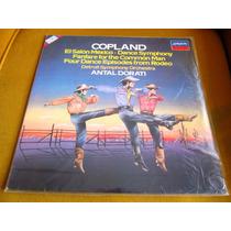 Lp Zerado Copland Rodeo Rodeio Antal Dorati Detroit Symphony