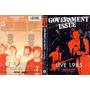 Government Issue - Live 1985 - Dvd - Hardcore - Importado