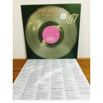 Lp The Smiths - The Queen Is Dead Importado Colorido Encarte