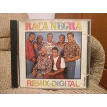Cd Raça Negra: Remix Digital 4 Faixas