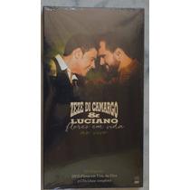Kit Especial Dvd+ 2 Cds Flores Em Vida Ao Vivo Zezé Di Camar
