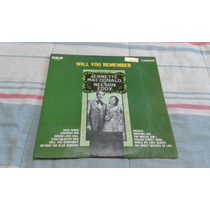 Lp Jeanette Macdonald And Nelson Eddy - Will You Remember
